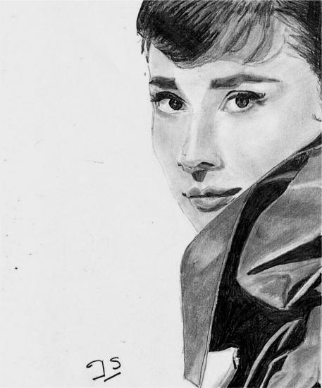 Audrey Hepburn by joss2b